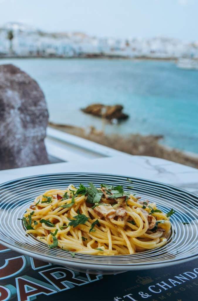 blu blu cafe Mykonos Restaurant Mykonos