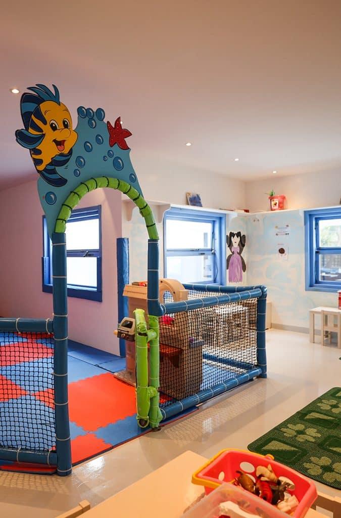 blu blu cafe mykonos Kids Area Mykonos