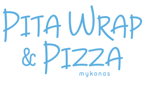 Pita Wrap Pizza Mykonos